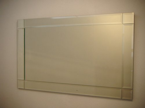 Bevelled Mirror Squares Corners 1200x800mm Mainly Mirrors