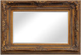 Gold Ornate Mirror (two sizes)