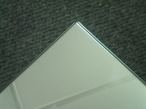 Frameless Dress Mirrors: Simple Polished Edge Mirror (4 sizes)