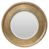 Round Gold Mirror 940mm Dia