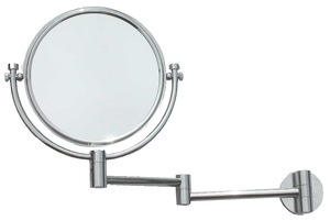 Magnifying Mirrors: Wall Fix Double Arm