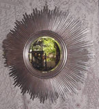 Large Silver Sunburst Mirror (2 sizes)