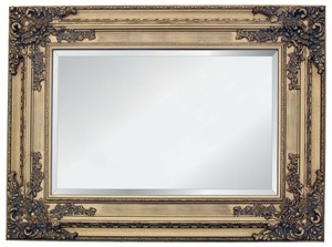 Gold Framed Mirrors: Gold Ornate Mirror 1290x990mm