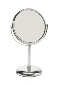 Magnifying Mirrors: Chrome Mirror On Stand