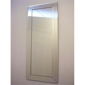 Dress Mirrors With Mirror Frames: Dress Mirror with Mitred Corners 550x1670mm