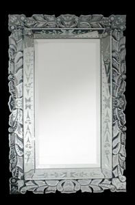 Venetian Style Mirrors: Large Rectangular Venetian Mirror 800x1275mm