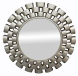 Round Silver Dial Mirror 1070mm dia