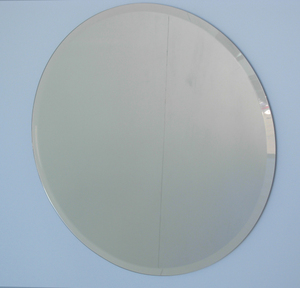 Simple Bevelled Mirrors: Round Bevelled Mirror (5 sizes)