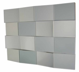 All Mirror Mirrors: Sectional Mirror With Angled Panels 1200x900mm