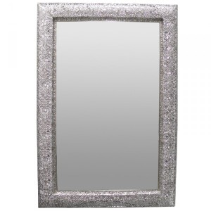 Metal Framed Mirrors: Metal Morrocan Mirror (2 colours)