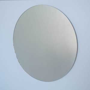 Polished Edge Mirrors: Round Flat Polished Edge Mirror (5 sizes)