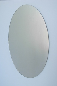 Polished Edge Mirrors: Oval Flat Polish Edge Mirror (2 sizes)