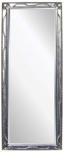 Traditional Dress Mirrors: Large Silver Dress Mirror 765x1965mm