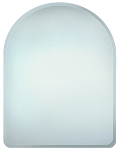 Simple Bevelled Mirrors: Arch Top bevel Mirror 600x800mm