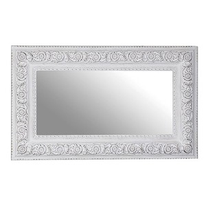 Other Framed Mirrors: Extra Large White Distressed Mirror 2300x1400mm
