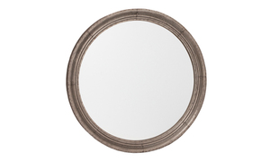Metal Framed Mirrors: Round Tin Framed Mirror 900mm dia