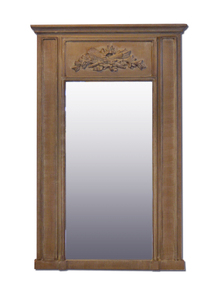 Wooden Framed Mirrors: Washed Oak Finish Mirror 900x1400mm