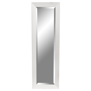 Contemporary Dress Mirrors: White Gloss Dress Mirror 490x1540mm