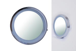 Magnifying Mirrors: LED Lit Battery Power