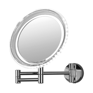 Magnifying Mirrors: LED Double Arm Battery