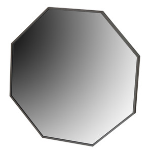Metal Framed Mirrors: Octagonal Metal Mirror 760x760mm