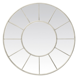 CRAZY 75% OFF (click on item to see special price) ONE OF EACH ITEM ONLY: Round Metal Window Mirror White 1000mm dia