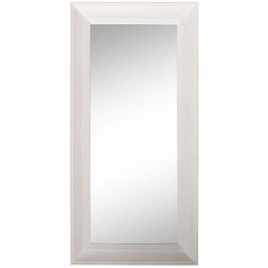 Contemporary Dress Mirrors: Large Washed Cream Dress Mirror 830x1730mm
