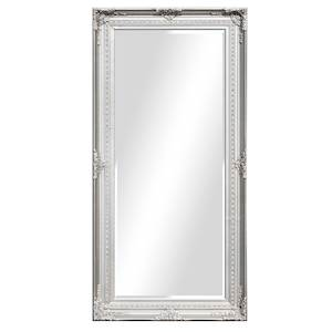Silver Framed Mirrors: Silver Ornate Mirror 1700x850mm