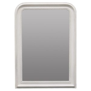 Other Framed Mirrors: Grey Round Top Mirror 770x1060mm