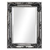 Silver Ornate Mirror 1200x900mm