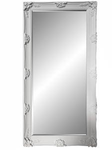 Traditional Dress Mirrors: Large White/Black/Gold/Silver Ornate Mirror 810x1675mm