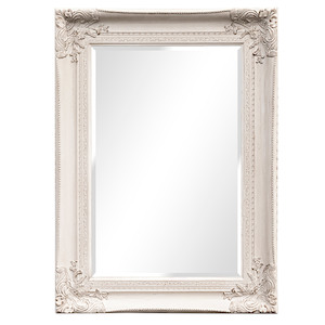 Silver Framed Mirrors: Silver Ornate Mirror 610x915mm