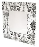 Flower Pattern Mirror 900x900mm