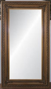Gold Framed Mirrors: Gold Ornate Mirror (2 sizes)