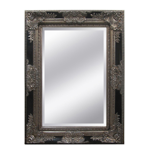 Other Framed Mirrors: Black/Silver Orante Mirror (2 sizes)