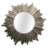 Silver Sunburst Mirror 1000mm dia