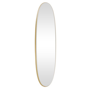 Contemporary Dress Mirrors: Oval dress Mirror 1360x360mm