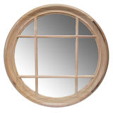 Round Window Mirror 700mm (2 colours)